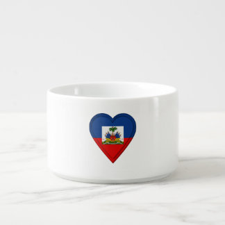 Tigela Bandeira do Haitian de Haiti