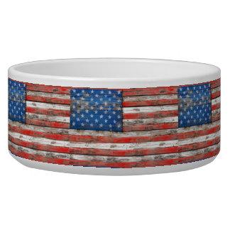 Tigela Bandeira referente à cultura norte-americana