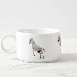 Tigela Cavalo branco