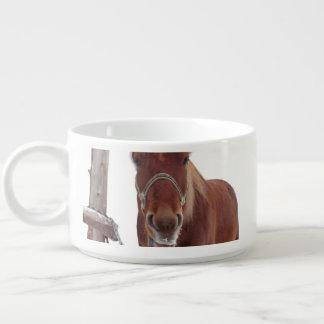 Tigela Cervos do cavalo - cavalo do Natal - cavalo