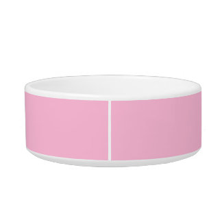 Tigela Cor completa básica cor-de-rosa do algodão doce