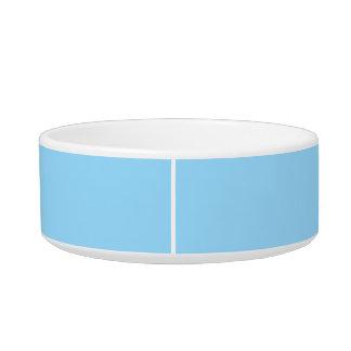 Tigela Cor simples azul celestial coordenada