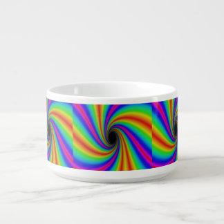 Tigela De Chili Bacia do pimentão do arco-íris