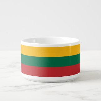 Tigela De Chili Bandeira de Lithuania