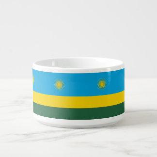 Tigela De Chili Bandeira de Rwanda