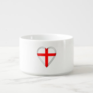 Tigela De Chili Bandeira do inglês de Inglaterra