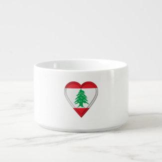 Tigela De Chili Bandeira do libanês de Líbano