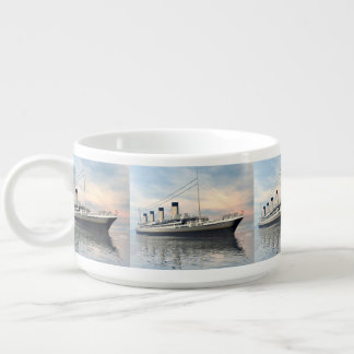 Tigela De Chili boat_titanic_close_water_waves_sunset_pink_standar