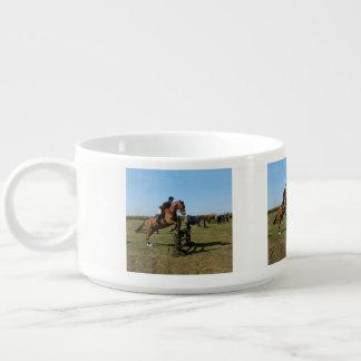 Tigela De Chili Cavalo de salto