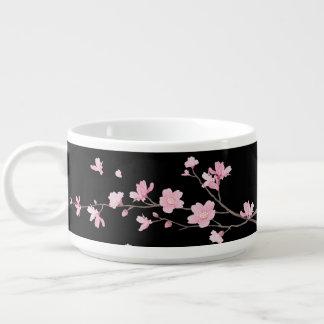Tigela De Chili Flor de cerejeira - preto