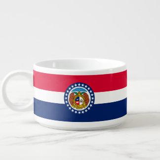 Tigela De Chili Gráfico dinâmico da bandeira do estado de Missouri