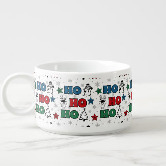 Tigela De Chili Ho-Ho-Ho design do Natal