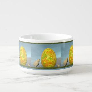 Tigela De Chili Ovos coloridos para a páscoa - 3D rendem