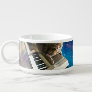 Tigela De Chili teclado do gato