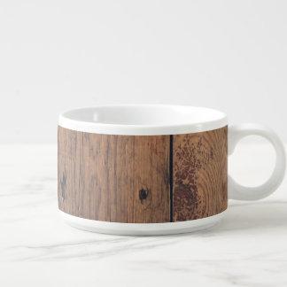 Tigela De Chili Textura de madeira