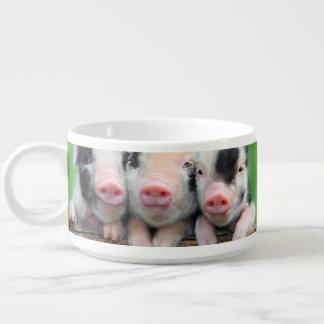 Tigela De Chili Três porcos pequenos - porco bonito - três porcos