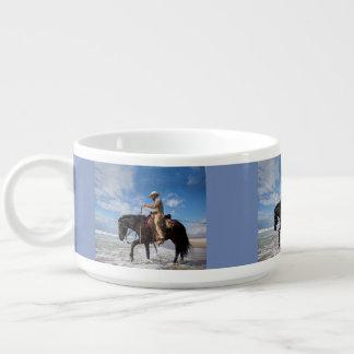 Tigela De Chili Vaqueiro e cavalo