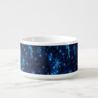 Tigela De Sopa Bacia azul & brilhante profunda do pimentão dos