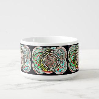 Tigela De Sopa Bacia do pimentão da porcelana de Le Liza Design
