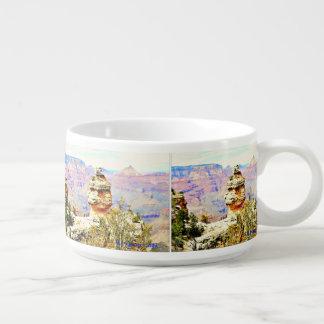 Tigela De Sopa Bacia do pimentão da rocha do Grand Canyon