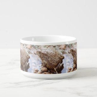 Tigela De Sopa Bacia do pimentão do sapo do Rio Colorado
