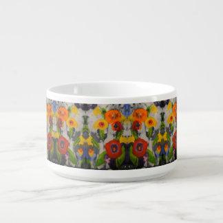Tigela De Sopa Bacias modernas coloridas corajosas do pimentão