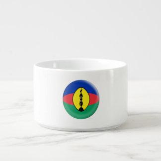 Tigela De Sopa Bandeira caledoniana nova de Nova Caledônia