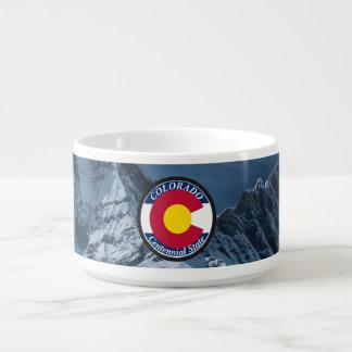 Tigela De Sopa Bandeira da circular de Colorado