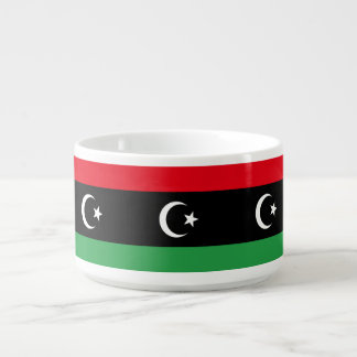 Tigela De Sopa Bandeira de Líbia