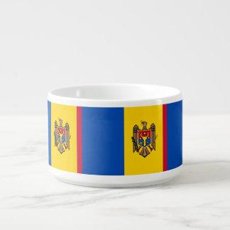 Tigela De Sopa Bandeira de Moldova