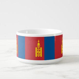 Tigela De Sopa Bandeira de Mongolia