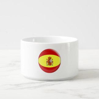 Tigela De Sopa Bandeira do espanhol da espanha