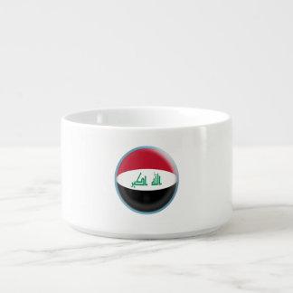 Tigela De Sopa Bandeira do iraquiano de Iraque