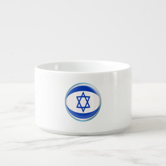 Tigela De Sopa Bandeira do israelita de Israel