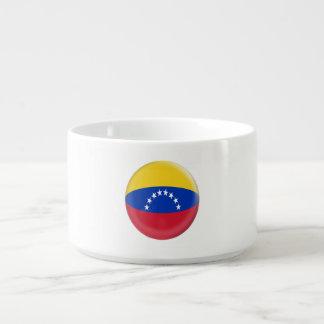 Tigela De Sopa Bandeira do venezuelano de Venezuela