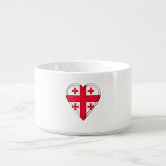 Tigela De Sopa Bandeira Georgian de Geórgia