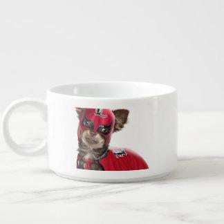 Tigela De Sopa Cão do libre de Lucha, chihuahua engraçada,