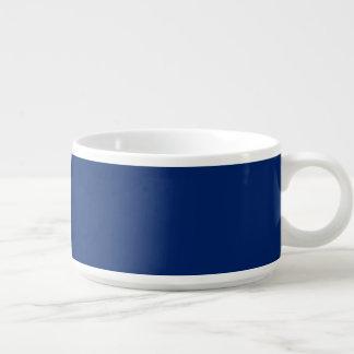 Tigela De Sopa Do pimentão da bacia azul uni