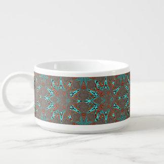 Tigela De Sopa Estrela do Fractal da complexidade futura