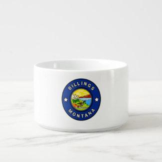 Tigela De Sopa Faturamentos Montana