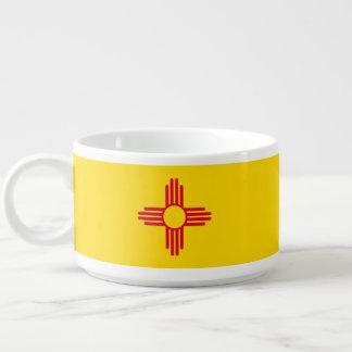 Tigela De Sopa Gráfico dinâmico da bandeira do estado de New
