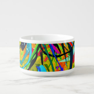 Tigela De Sopa Jardim da selva