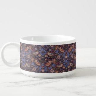 Tigela De Sopa Ladrão da morango de William Morris do vintage