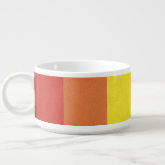 Tigela De Sopa Listras do arco-íris