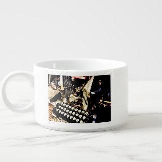 Tigela De Sopa Máquina de escrever antiga Oliver #9