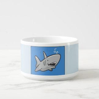 Tigela De Sopa O peixe Flopping projeta o ™