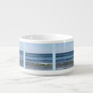 Tigela De Sopa Ondas de oceano do rolamento