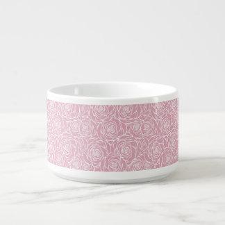 Tigela De Sopa Peônias, floral, branco, cor-de-rosa, teste