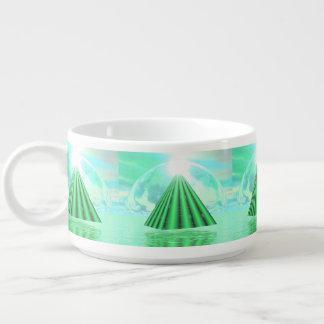 Tigela De Sopa Pirâmide Mystical - 3D rendem