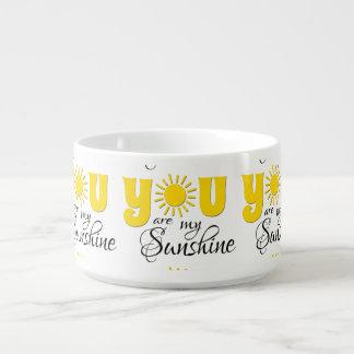 Tigela De Sopa Você é minha luz do sol